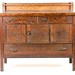 4. Antique Mission Oak Server