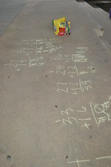 Chalk Fun 221 (loonyhiker) Tags: chalk august math 2012366