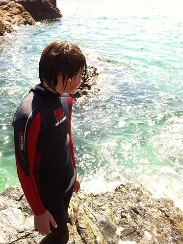 Kiddo at Cadgwith