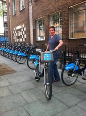 Paul goes boris-biking