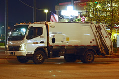Fuso Trash Truck (So Cal Metro) Tags: trash truck garbage maryland baltimore rubbish waste refuse fuso mitsubishi innerharbor sanitation trashtruck dustcart mitsubishifuso rearloader