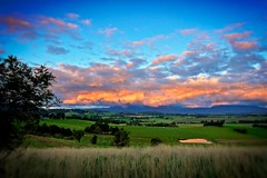 View over Yarra Ranges II (dixon1150gs) Tags: light sunset nature weather rural landscape countryside australia melbourne healesville victoria yarravalley yarraranges maroondah skyporn