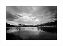 Lake Lyell B&W (Peter & Olga) Tags: longexposure bw lake june clouds landscapes 2012 lyell 10stop d700 olgabaldock