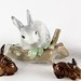 174. English & Lladro Bunnies