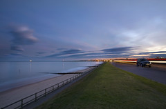 Aberdeen Beach 10 stopper (The Terry Eve Archive) Tags: sea beach canon lowlight ship north aberdeen lighttrails groins ndfilter longshoredrift eos5d
