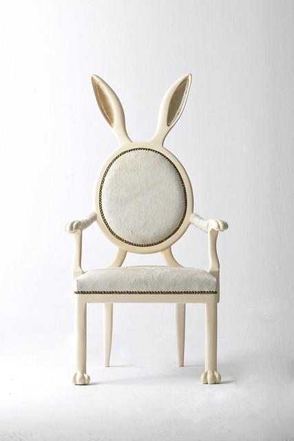 Merve Kahraman設計的 動物造型椅