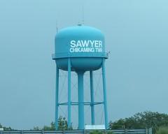 Watertower - Sawyer, Michigan (SpeedyJR) Tags: tower water michigan watertower watertowers sawyermichigan speedyjr