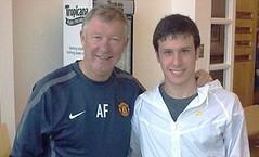 Alex Ferguson and Angelo Henriquez
