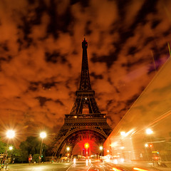 Nuit de canicule  Paris... (Ganymede2009) Tags: paris tour eiffel mygearandme mygearandmepremium mygearandmebronze inspiredchoice architectureandcities rememberthatmomentlevel1
