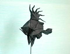 John Dory (folding~well) Tags: sea fish paper origami folding johndory