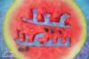 بروجكت العيد 1\2 (Fatimah Alzwyed .. Instagram:fatimahalzwyed) Tags: تصميم عيد صورة سعيد بطيخ اخضر ازرق احمر جح بوكيه