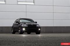 BMW X6 - VVSCV3 (VossenWheels) Tags: black 22 euro wheels deep german bmw rim matte concave x6 machined vossen cv3
