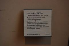 """""""Nature morte aux raisins, fleurs, et coquillages"""", Juan de Espinosa, 1628 (1st Floor-Paintings/Denon Wing) (usf1fan2) Tags: paris louvre parislouvre thelouvre thelouvremuseum"""