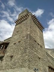 防御之用的碉楼。