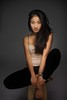 K (Fufurasu) Tags: portrait woman feet girl beautiful studio asian japanese pretty skin chinese longhair portraiture barefoot actress actor casual perched stool luminous 500d foldedlegs weowncameras