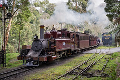 Puffing Billy leaving Belgrave Station (gifas) Tags: puffingbilly belgrave melbourne dandenongranges dandenongs