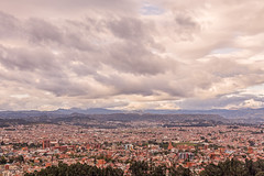 Aerial View Of Cuenca City (kalypsoworldphotography) Tags: aerial andean andes architectural architecture building catholic church city cloud cloudy colonial conquistador cuenca culture destination ecuador highland historic history horizon horizontal landmark landscape medieval monument mountain old outdoor overview panorama panoramic place scene scenic southamerica spanish sunset tourism town traditional travel tree urban valley view aerialview drone