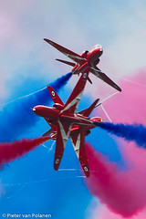Red Arrows (Pieter van Polanen Photography) Tags: riat fairford hawk t1a red arrows ra display team raf