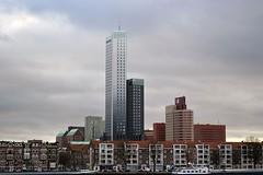Rotterdam (The Netherlands) - Maaskade & Nassaukade - 3 (Bjorn Roose) Tags: netherlands architecture rotterdam nederland maas paysbas architectuur nassaukade zuidholland maaskade niederlnde bjrnroose bjornroose