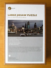 Box, The City from Waterloo Bridge (pefkosmad) Tags: jigsaw puzzle hobby leisure pastime london panorama photograph city cityoflondon buildings architecture 207pieces complete largepieces galleryone g1com