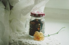 IMG_20160820_0013 (m_szczygielska) Tags: nikon nikonf65 analog analogue 35mm 35mmfilm retro flowers tea vintage glass white pretty things film is dead