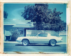 Williams, AZ (moominsean) Tags: polaroid 190 instant type669 expired082000 arizona williams southwest car muscle firebird