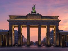Germany, Berlin - Brandenburg Gate (Nomadic Vision Photography) Tags: autumn thebrandenburggate travel berlin berlinlandmark citygate germany