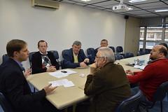 Secretrio com prefeito e lideranas de Arroio do Meio (Lucas Redecker) Tags: lucasredecker sme secretrio arroio do meio