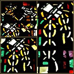 11 - Rambouillet, glise Saint-Lubin-et-Saint-Jean-Baptiste, Vitraux de Gabriel Loire - Les 7 sacrements - La Pnitence - Dtails (melina1965) Tags: aot august 2016 ledefrance yvelines mosaque mosaques mosaic mosaics collages collage macro macros vitrail vitraux stainedglasswindow stainedglasswindows nikon d80 glise glises church churches rambouillet