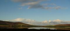 Kirbister (stuartcroy) Tags: orkney island scotland scenery sky sea still sony loch kirbister colour clouds reflection
