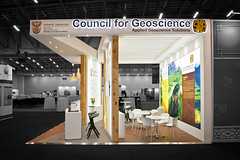 Geoscience_custom-stand_HOTT3D_Geological-Congress_2 (HOTT3D Exhibition Stands - Cape Town) Tags: idc2016 councilforgeoscience cticc dmr departmentmineralresources pavilion peninsula cutomexhibit bespoke exhibit design booth expodisplay timberbooth ducosprayed spraypainted bulkhead rigging ledsign timberfloor raisedplatform novilon conference confex delegates meetings reception informationkiosk lounge backlitgraphics fabricprinting tensionedfabricprinting ledscreens cnccutlogo diecutvinyl eventprofs sketchup vray photoshop capetown southafrica hott3d