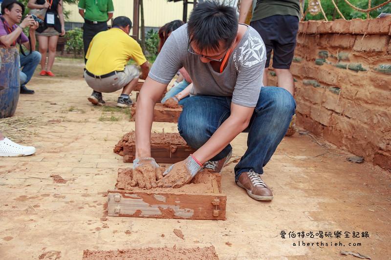 2016桃園地景藝術節:打泥磚