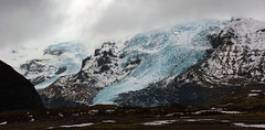 a sight our grandchildren might not witness anymore (lunaryuna) Tags: iceland southeasticeland mountainrange svinafellsjokull glacier glaciertongues glacialice winter season seasonalwonders landscape panorama lunaryuna silence solitude nature