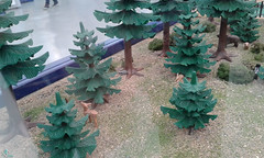 Ciudad victoriana (lalex24) Tags: exposicionplaymobil playmobil ciudad victoriana arbol mofeta cierbo jabali conejo tejon