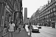 Paris - Montparnasse (vintage114) Tags: paris rue montparnasse monochrome street
