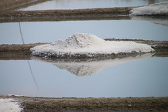 salt marshes - Marais salants - Gurande (Jeanne Menj) Tags: maraissalants sel gurande saltmarshes salt pyramide reflet reflection