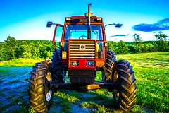 DSC_9792 (Cameron_McLellan) Tags: rural farm cobourg ontario canada summer creepy night nightlight nightlights nightphotography nightmoves photography photo foto fotography cmfotography fotografia ribs ribfest bbq tragicallyhip hipscreening summer2016 carnvial fields tractor longexposure