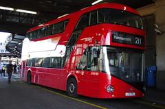 IMGP4395 (Steve Guess) Tags: waterloo lambeth london se england tfl newroutemaster borismaster borismonster newbusforlondon nb4l nbfl wright route211 lt715 ltz1715 abellio