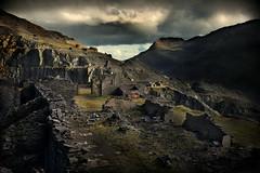 Mark Waidson Dinorwic workshop (pentlandpirate) Tags: dinorwic gwynedd snowdonia ruins slate quarry northwales dinorwig llanberis derelict