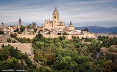 Segovia (Spain) (Ignacio Ferre) Tags: segovia comunidaddecastillaylen spain espaa church catedral iglesia ciudad pueblo cathedral minster kirk nikon landscape paisaje city village