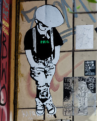 HH-Wheatpaste 3042 (cmdpirx) Tags: hamburg germany reclaim your city urban street art streetart artist kuenstler graffiti aerosol spray can paint piece painting drawing colour color farbe spraydose dose marker stift kreide chalk stencil schablone wall wand nikon d7100 paper pappe paste up pastup pastie wheatepaste wheatpaste pasted glue kleister kleber cement cutout