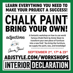 Creative Workshops are always on at Unhinged! (ADJstyle) Tags: workshop creative painting furniture do it yourself new arrivals adjectives market