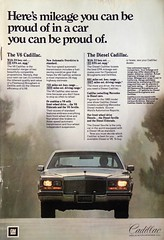 Cadillac 1981 | National Geographic 1981 April (RiveraNotario) Tags: cadillac nationalgeographic vintageads 1981 80s cars carads