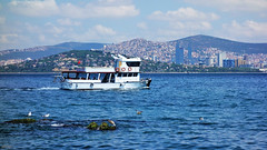 Asian stanbul from Island (cokbilmis-foto) Tags: istanbul asia asian marmara sea denizi ship ships boat boats seagulls seagull mart martlar skyline buildings highrises mountain mountains sony rx100 waterfront background foreground travel maltepe pendik city cityscape landscape seascape