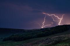Lightening at Stanage Edge (garethjones206) Tags: red lightening stanage peak district edge thunder