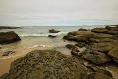 Weathered Rocks (Paul Hollins (offline - on holidays)) Tags: australia newsouthwales norahhead seascape nikond750 nikkor1635f4lens rocks details soldiersbeach