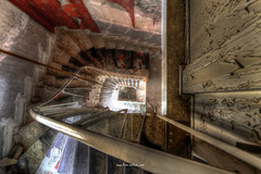 Staircase (Fine Art Foto) Tags: urologe urologist doctor doctors practice urbex urbanexploration urbandecay urban lostplace lostplaces oblivion decaying decay discarded derelict vergessen verlassen abandoned forgotten staircase