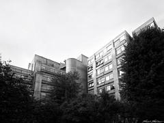 Leuven Brutalism (The ShortShifter) Tags: leuven lovaina belgica belgium architecture arquitectura brutalismo brutalism hormigon concrete louvain kuleuven bw blackandwhite city urban dust industrial vintagephography
