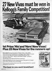 Viva!! (Lost-Albion) Tags: vauxhallviva kellogs cornflakes promotion competition practicalmotoring 1971
