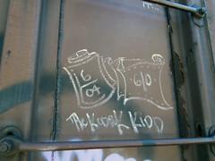 THE KODAK KIDD (TRUE 2 DEATH) Tags: railroad art train graffiti streak tag graf railcar boxcar railways hobo railfan freight tkk freighttrain rollingstock monikers moniker meanstreaks hobotag hobomoniker hoboart benching paintsticks railroadart boxcarart oilbars freighttraingraffiti thekodakkidd markals kodakkidd flbh folklorebrotherhood